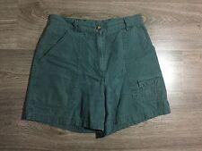 Womens Woolwich Outdoor Wear Green Shorts