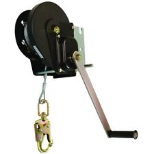 Falltech Fall Protection Materials Winch w/60' Galvanized Steel Cable