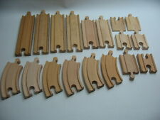 EXPANSION EXTRA TRACK  for your Wooden / Railway train track ~  B