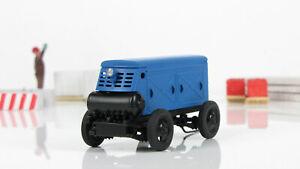 Exclusive! Compressor ZIF-55 blue 1970 handmade 1:43