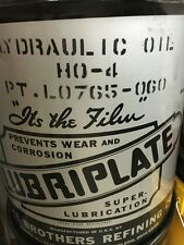 Lubriplate ISO 220 hydraulic oil brand new 5 gallons HO-4