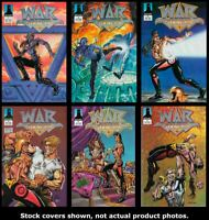 War Dancer 1 2 3 4 5 6 Defiant 1994 Complete Set Run Lot 1-6 VF/NM