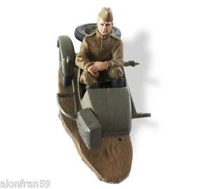 LEAD SOLDIERS MOTORCYCLE - Red Army, Finland, Sidecar M-72 - SMI017