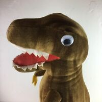 Vintage Retro T Rex Dinosaur Plush Toy