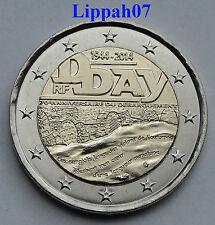 Frankrijk speciale 2 euro 2014 D-Day UNC