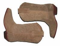 SUPER! Damen- Western- Stiefel / Boots / Lederstiefel in beige ca. Gr. 36,5