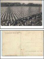 LEIPZIG 1922 Echtfoto-AK Dt. Arbeiter Turn- u. Sportfest Personen Turner Riege
