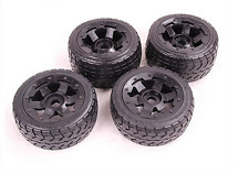 2 x Front and 2 x Rear highway-road wheel set For 1/5 HPI rovan km baja 5B parts