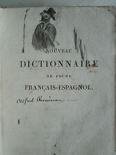 Espagnol  Nouveau Dictionnaire de poche Français-Espagnol & nuevo diccionario