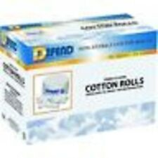 COTTON ROLLS #2 BX/2000 DEFEND