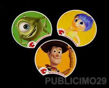 PUBLICITE / PUB / AD    VACHE QUI  RIT   LOT de 3  Cartes PIXAR   W. Disney