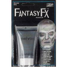 Monster Grey Mehron Fantasy FX Water Base Paint Body Face Makeup Cream Gray