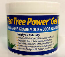 Tea Tree Power Oil GEL Air Purifier Mold Mildew Bacteria Boat Camper 4oz 770202