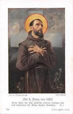"""Le zèle photos icône gebetbild """"HOLY CARD ARS sacra"""" h2055"""" Franz v Asisi"""