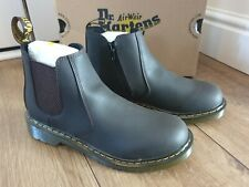 Dr Martens 2976 Womens Chelsea Ankle Zipped Boot, Size 5, Dark Brown, BNIB