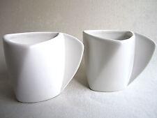 2 Danish Modern Design Ceramic COFFEE MUGS Cups Art Deco