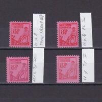 GERMANY 1945 Soviet zone, Mi# 11, different plates, signed, MNH