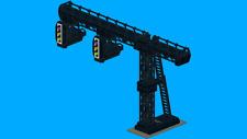 LEGO NOTICE : Instruction montage portique train custom