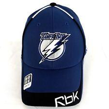 Reebok Tampa Bay Lightning NHL Hockey Ccm Baseball Hat Cap Flexfit One Size 7de134b8a