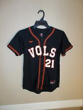 UNIVERSITY OF TENNESSEE VOLUNTEERS BASEBALL JERSEY YOUTH SIZE M