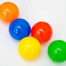 """Lot de 200 Balles Multicolores Plastique Enfant """"Diamètre 5,5cm"""" Neuf"""