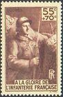 France num Yvert 386 ** MNH Infanterie Année 1938