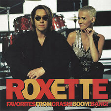(CD) Roxette - Favorites From Crash! Boom! Bang! (1994 Cema [S2-17956] U.S.A.)