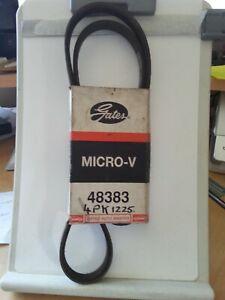 GATES MICRO-V BELT 48383 / 4PK1225 CITROEN BX, LADA NIVA, PEUGEOT 205, 309