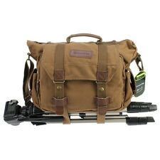 Canvas Messenger Camera Shoulder Bag For Nikon D810 D610 D600 D3300 D5300 D7100