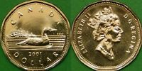 2001 Canada Loonie Graded as Proof Like From Original Set