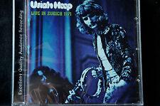 Uriah Heep Live In Zurich 1971 CD New + Sealed