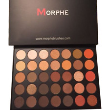 Authentic MORPHE BRUSHES 35O 350 EYESHADOW PALETTE SHADOW NATURE GLOW US Seller