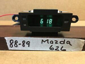 88-89 MAZDA 626 DASH  DIGITAL CLOCK