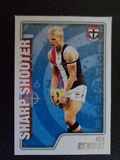 2009 AFL Herald Sun Sharp Shooter Card 'Nick Riewoldt' St Kilda #SS13