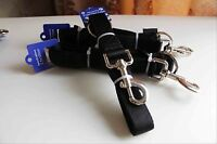 Heavy Duty Dog Double Layers Thick Nylon Traction Rope Training Leash Lead Strap