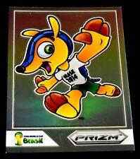 2014 Panini Prizm World Cup Soccer Mascot Silver Prizm Fuleco
