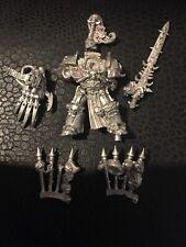 Abaddon the Dispoiler Chaos Space Marine Warhammer Metal OOP