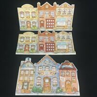 VTG Set of 3 Cherished Teddies Club Kit Backdrops 1994-1995 Foam Easel