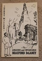 BEAUFORD DELANEY AMAZING  INVARIABLE AFRICAN AMERICAN ARTIST BOOK 1978 HARLEM