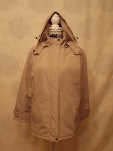 Bm Jacket with a hood size 8       Beige