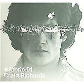 Craig Richards : Fabric 01 CD (2004) ***NEW*** FREE Shipping, Save £s