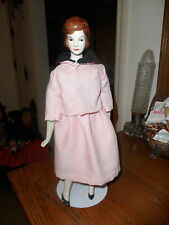 "Rare & Unusual JACKIE KENNEDY china doll 14"" VGC"