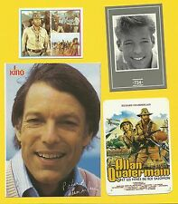 Richard Chamberlain Allan Quarterman Movie Actor Fab Card Collection