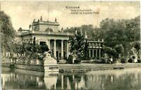 uralte AK, Warschau (Warszawa), Schloß im Lazienki-Park, Feldpost