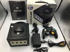 Nintendo GameCube Console Black BOXed DOL-001(JPN) Very good Condition