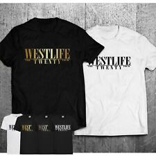 Adults Mens Ladies Westlife Reunion 2019 Tour T-Shirt Pop Crossover Music Tee