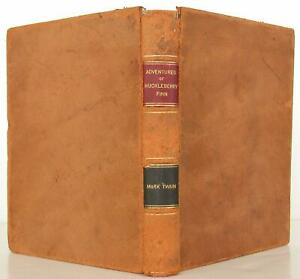 Mark Twain, S L Clemens / The Adventures of Huckleberry Finn Signed 1st #108077