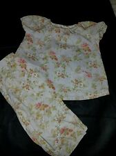 Laura Ashley Girls Clothing Baby Girl 2T Shirt & Pants 2 Piece Outfit EUC