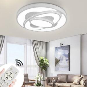 48W-72W LED Deckenleuchte Dimmbar Deckenlampe Wohnzimmer Badleuchte Küchen Lampe