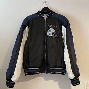 Vintage G-III/Carl Banks Dallas Cowboys Leather Jacket - Size Medium